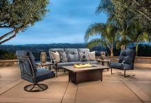 Photo of Cleaning the grey teak furniture of your patio